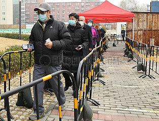 CHINA Beijing-ELDERLY CITIZEN-IMPFUNG (CN) CHINA Beijing-ELDERLY CITIZEN-IMPFUNG (CN) CHINA Beijing-ELDERLY CITIZEN-IMPFUNG (CN)