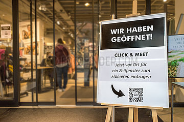 Erding  Click & Meet bei Bekleidungsgeschaeft  Erding  13.03.2021