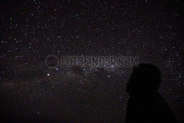 INDONESIEN-BALI-NYEPI DAY-sternenklare Nacht