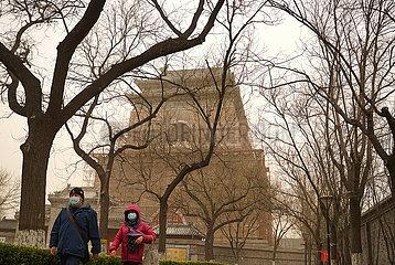 CHINA Beijing-WEATHER-Staub (CN)