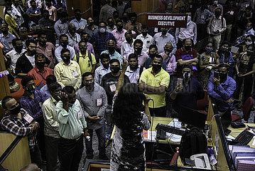 INDIEN-BANK STRIKE