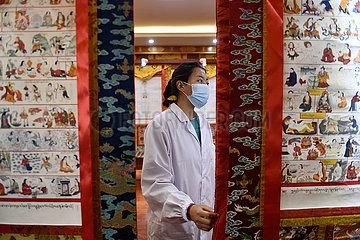 CHINA-QINGHAI-GOLOG-Berufsausbildung (CN)
