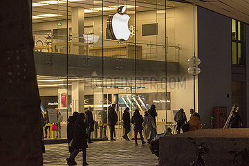 Apple Store  Muenchen  15.03.2021