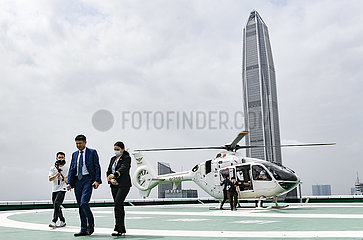 CHINA-Shenzhen ZIVILLUFTFAHRT-Airport-hubschrauber TRANSFER (CN)
