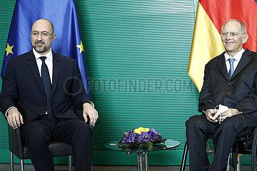 Bundestag Treffen Schaeuble Schmyhal