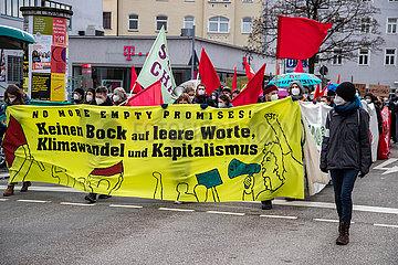 No more empty promises: Demo zum globalen Klimastreik in München