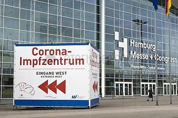 Corona-Impfzentrum Hamburg