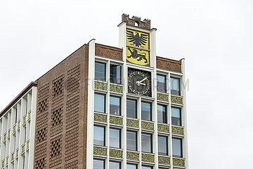 Rathaus  Dueren  Nordrhein-Westfalen  Deutschland
