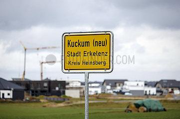 Kuckum (neu)  Neubau Umsiedlungsstandort fuer Keyenberg  Kuckum  Unterwestrich  Oberwestrich und Berverath  Erkelenz  Nordrhein-Westfalen  Deutschland