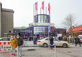 Impfzentrum Messe Berlin