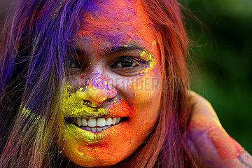 INDIEN-BHOPAL-Holi-Fest