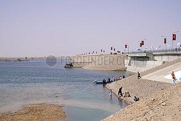 AFGHANISTAN-Nimroz-HYDRO DAM-EINWEIHUNG