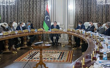 LIBYA-TRIPOLI-NEW GOVERNMENT MEETING
