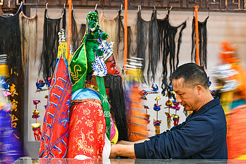 CHINA-GUIZHOU-Longli-traditionelle Opern (CN)