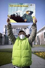 Demo Klimakrise bekaempfen