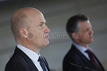 Pressekonferenz vor der Fraktionssitzung der CDU/ CSU  Reichstagsgebaeude  23. Maerz 2021