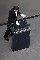 Bundestag  Budget Coronavirus