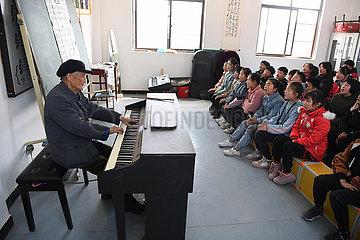 CHINA-ANHUI-Dingyuan-Land-TEACHER (CN)