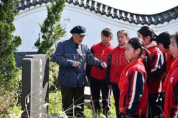 CHINA-ANHUI-Dingyuan-Land-TEACHER (CN) CHINA-ANHUI-Dingyuan-Land-TEACHER (CN) CHINA-ANHUI-Dingyuan-Land-TEACHER (CN)