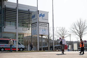 Impfzentrum in München