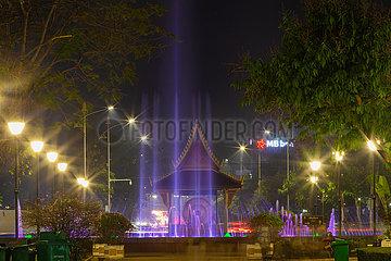 LAOS-VIENTIANE-CHINA-LIGHTING-ÜBERGABE