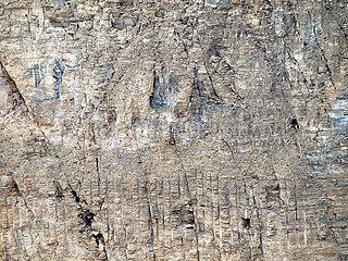 Abbau der Kalkplatten bei Solnhofen.