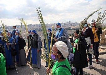 MIDEAST-JERUSALEM-PALMSONNTAG