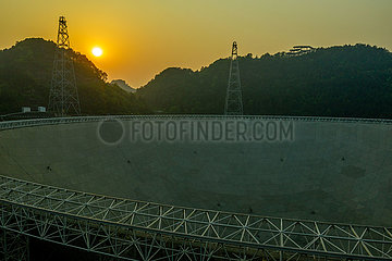 (EyesonSci) CHINA-GUIZHOU FAST-Teleskop (CN)