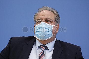 Bundespressekonferenz zum Thema: Kontrolle des grenzueberschreitenden Verkehrs im Zusammenhang mit der Corona-Pandemie