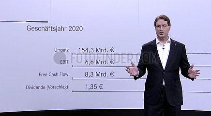 Daimler Virtual Annual Meeting