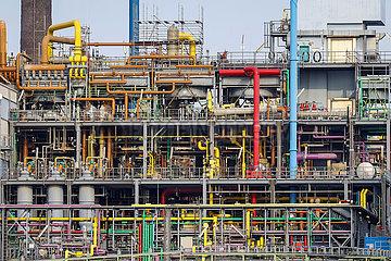 Bayer Werk  Chempark  Leverkusen  Nordrhein-Westfalen  Deutschland