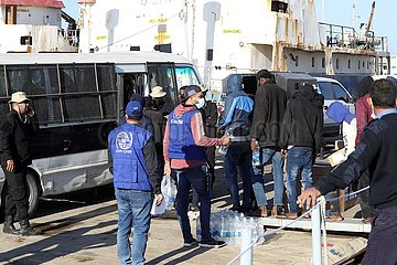 Libyen-Zawiya-PRISONERS-RELEASE