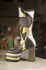 Plateustiefel/ plateu boots