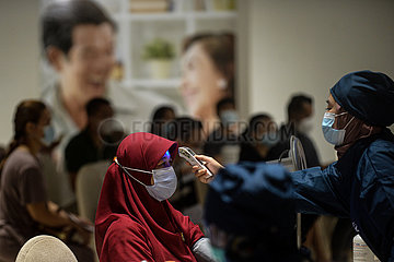 INDONESIEN-JAKARTA-COVID-19-IMPFUNG