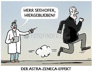 Seehofer kneift...
