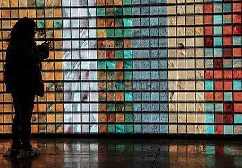 TÜRKEI-ISTANBUL-Ausstellung zeitgenössischer Kunst