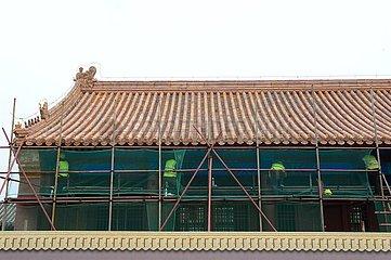 CHINA-HEBEI-WESTERN QING TOMBS (CN) CHINA-HEBEI-WESTERN QING TOMBS (CN) CHINA-HEBEI-WESTERN QING TOMBS (CN)