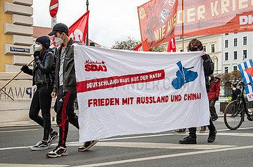 Ostermarsch 2021 in München