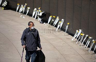 CHINA-LIAONING-SHENYANG-CPV MÄRTYRERN CEMETERY-Condolence (CN)