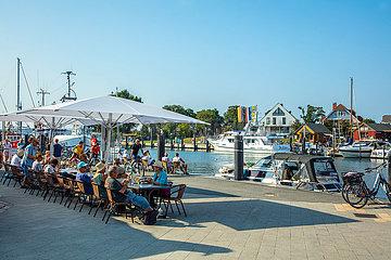 Niendorfer Hafen  Gastronomie.
