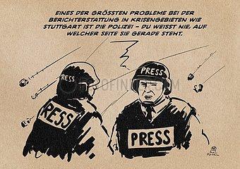 Presse in Stuttgart