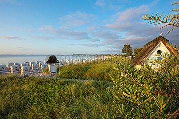 Am Ostseestrand von Haffkrug.