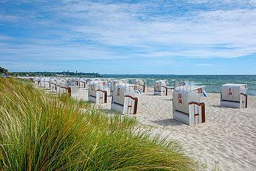 Morgens am Strand von Haffkrug