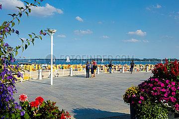 Travemünde  Strandpromenade