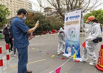 CHINA-YUNNAN-RUILI-COVID-19-2ND ROUND TESTING (CN)