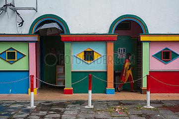 Singapur  Republik Singapur  Oeffentliche Toilette im Stadtteil Little India