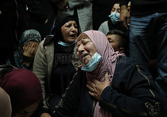 MIDEAST-Biddu-palästinensisch-FUNERAL