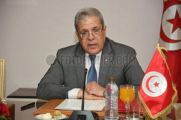 TUNESIEN-TUNIS-CHINA-ABKOMMEN-SIGNING