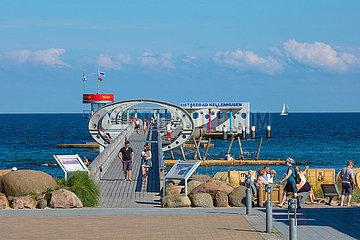 Ostseebad Kellenhusen  Seebrücke.