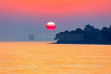 Morgenstimmung am Brodtner Ufer